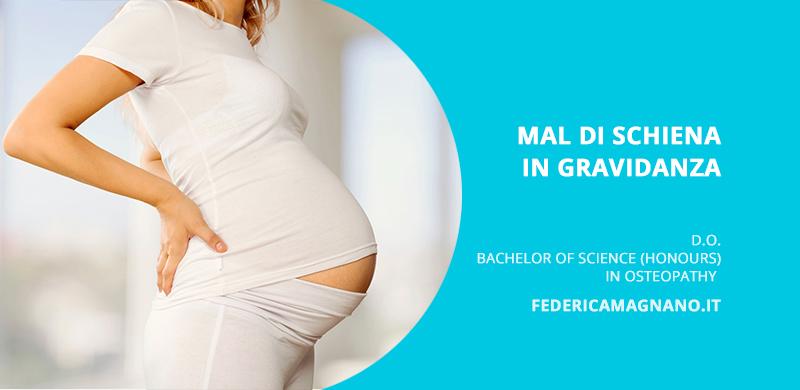 mal di schiena gravidanza e osteopatia
